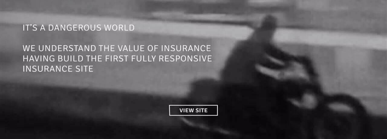 We understand the value of insurance, having built the first fully responsive insurance site